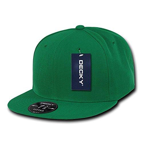 Decky Retro Fitted Caps Head Wear, Herren, Kelly, 140 Preisvergleich