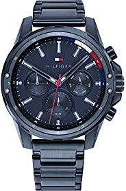 Tommy Hilfiger Men's Analogue Quartz Watch with Stainless Steel Strap 179