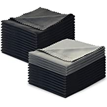 Lot de 24 Charm   Magic Chiffons de Nettoyage en Microfibre pour Nettoyer  Lunettes, Caméras 86368552dc6a