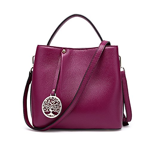GUANGMING77 手提单肩斜挎包_女包手提单肩斜挎包,Wathet Rose purple