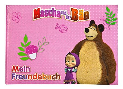 Bär-tagebuch (Undercover MBCE0962 - Mascha und der Bär, Freundebuch A5)