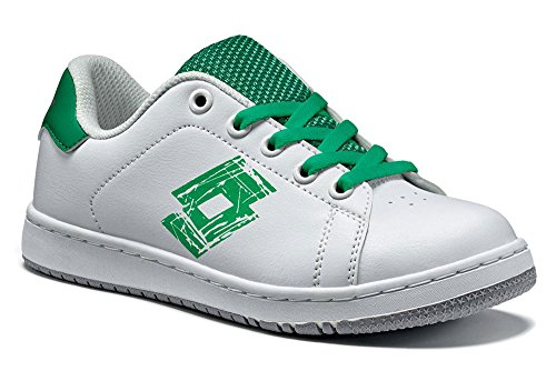 Lotto, Scarpe da tennis bambini Weiß (WHITE/GREEN FLAG)