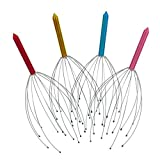 NiceButy - Massaggiatore per testa e cuoio capelluto, strumento anti Stress, per rilassarsi, Colore Casuale