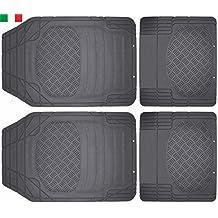 Cenni 28765 Set 4 Tappeti Auto in Gomma Sagomabili Universali Made in (5 Donne Di Sconto Profumo)