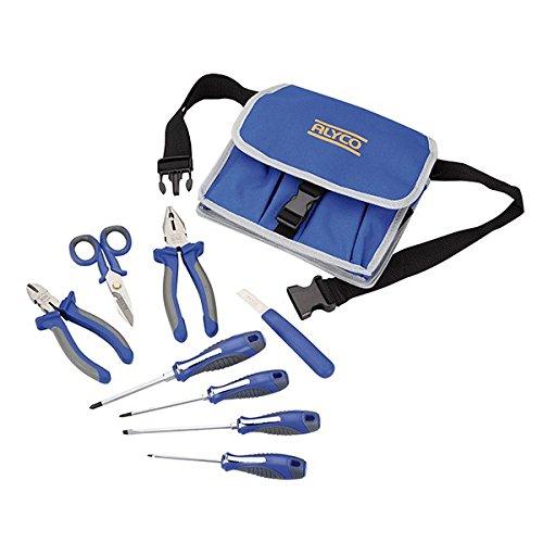 Alyco 101400 - Bolsa nylon juego 9 herramientas