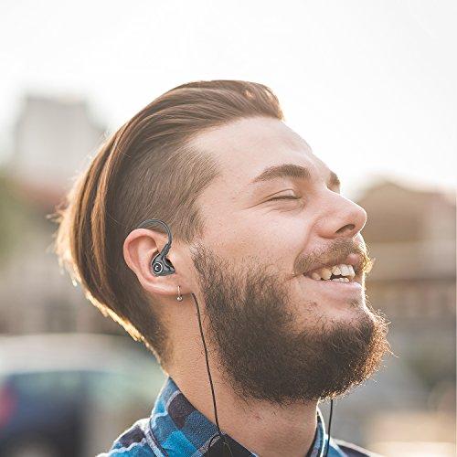Jayfi JET-830 Geräusch-Isolierung Stereo Ohrhörer In-Ear-Kopfhörer Erinnerungsohrhaken mit Draht - 6