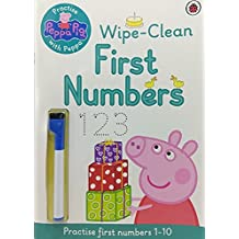 Peppa Pig: Practise with Peppa Wipe-Clean First Numbers: Practise with Peppa Wipe-Clean Numbers