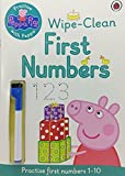 Best Christmas Books For Toddlers - Peppa Pig: Practise with Peppa Wipe-Clean First Numbers: Review