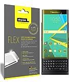 dipos I 3X Schutzfolie 100prozent passend für BlackBerry Priv Folie (Vollständige Bildschirmabdeckung) Bildschirmschutzfolie