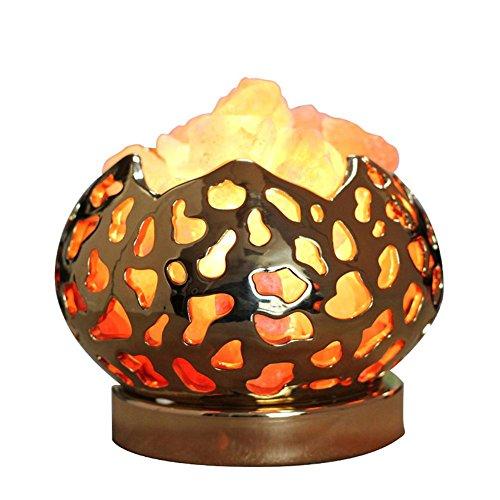 GBT Crystal Salt Lampe Europäischen Himalaya Kreativ Schlafzimmer Anion Nachttisch Lampe Salz Kristall Licht (Led-Leuchten, Warmes Licht, Weißes Licht, Kronleuchter, Innenbeleuchtung, Außenleuchten, Wandleuchten) (Salz Shampoo Freie)