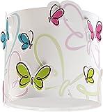 LED Lampe Kinderzimmer Decke Deckenleuchte Schmetterling 62147 Dimmbar warmweiß 1000lm Mädchen