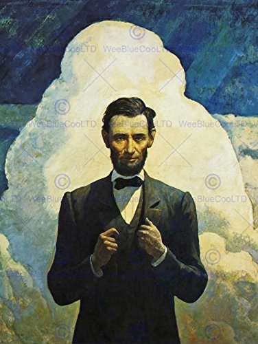 painting-politics-vintage-president-abraham-lincoln-1940-nc-wyeth-poster-cc3504
