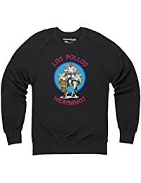 Official Breaking Bad - Los Pollos Hermanos Pull col rond, Pour homme