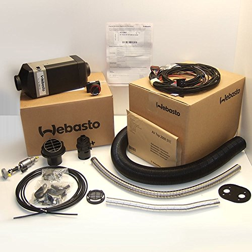 Outlet Kit (Webasto Air Top 2000 STC heater Diesel single outlet 12v Kit | 4111385C)