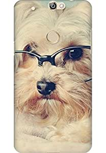 Amez designer printed 3d premium high quality back case cover for Coolpad Max (cute dog )