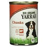 Yarrah Bio Chunks mit Rind, 405 g