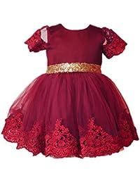 Rotes festliches kleid baby