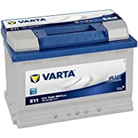 Varta Blue Dynamic E11 Batterie Voitures, 12 V 74Ah 680 Amps (En)