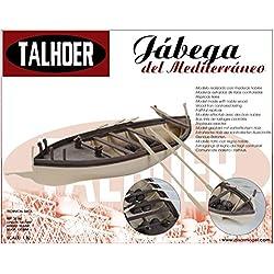 Talhoer 1620160 - Kits maqueta barco de madera Jábega del mediterráneo