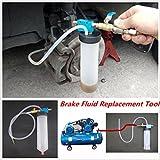 Kit di attrezzi per sostituzione del liquido freni, spurgo, sostituzione del liquido della frizione idraulica; per auto e camion; richiede il lavoro di una sola persona