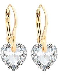 1a6e4f537069 De la Mujer sofisticada terminado a mano 10 mm corazón de cristal  Swarovski® Elements colgante