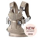 BABYBJÖRN Babytrage One Air, 3D Mesh, Greige, 2018 Edition