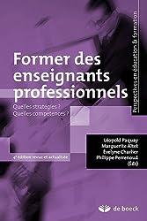 Former des Enseignants Professionnels Quelles Strategies Quelles Compétences