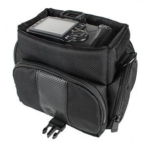 Fototasche-f-Panasonic-FZ72-FZ82-FZ200-FZ300-FZ1000-Sony-HX400V-Nikon-B500-L340-L840-P600-und-weitere