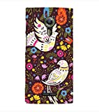 Fuson Designer Back Case Cover for Alcatel Flash 2 :: Alcatel Onetouch Flash 2 (Pigeon White Pigeon Flowers Leaves pink Flowers)