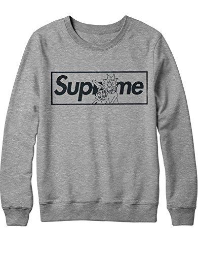 Sweatshirt Rick Supreme Parody Science C350017 Grau M