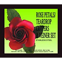 Rose Petal/teardrop Cutters & Veiners Set by PETAL