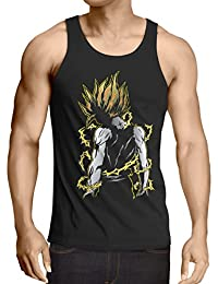 style3 Goku Pop-Art Power Débardeur Homme Tank Top