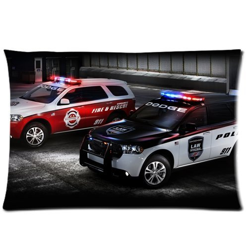 dodge-durango-police-and-fire-rescue-cars-pillowcasesfundas-para-almohada-custom-pillow-casefundas-p