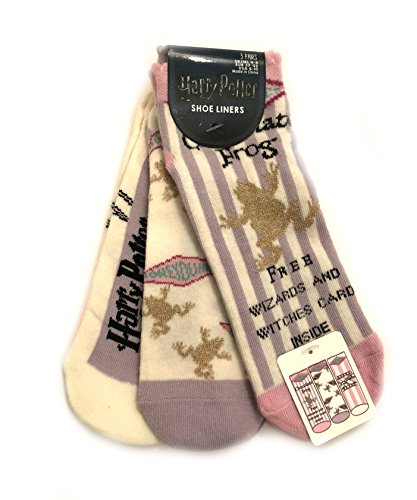 3 Pair Pack Socks Harry Potter Different Designs Ladies Girls UK Size 4-8 Eur 37-42 USA 6-10