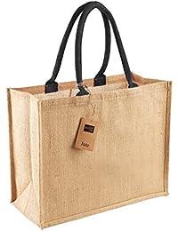 Westford Mill wm407jute sac shopper classique Taille unique