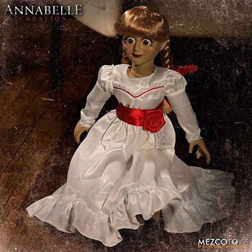 Trucco Annabelle Halloween.Annabelle Creation Annabelle Doll Prop Replica