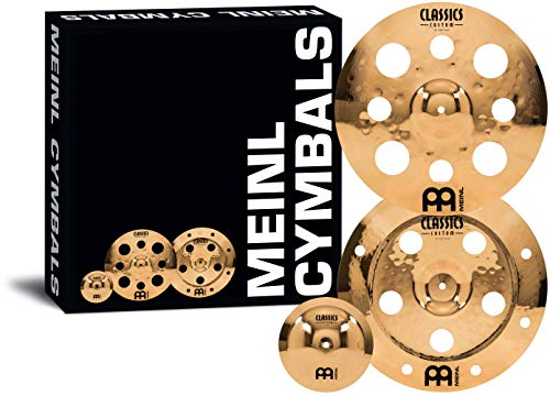 Meinl Cymbals Cymbal Variety Package (CCFX-B) -