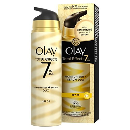 Olay Total Effects 7in1 Moisturiser + Serum Duo SPF15 40ml -