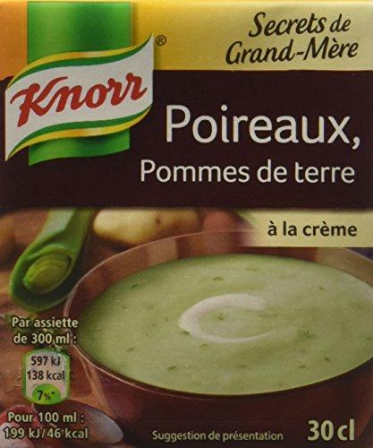 Knorr Secrets de Grand-Mère Poireaux Pommes de Terre 12 x 30 cl