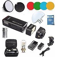 Godox AD200 2.4G TTL Bolsillo Flash 200Ws TTL HSS 1 / 8000s Flash con 2900mAh Litio Batería + AD-S11+AD-S2+AD-17+ AD-15 para Canon Nikon Sony