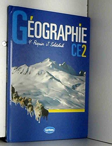 Géographie : CE2 par Pasquie, Solnick (Reliure inconnue)