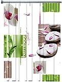 Duschvorhang Orchidée 180cm x 200cm Vinyl ohne Ringe