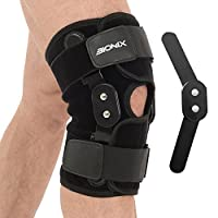 49e64268e2 Bionix Hinged Knee Support Brace - Breathable Neoprene with Dual Hinges and  Adjustable Straps helps Stabilized Knee for Arthritic/ACL/Meniscus Tear/ Sports ...