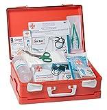 AIESI Cassetta medica di pronto soccorso ALLEGATO 1 CON SFIGMOMANOMETRO per aziende più 3 dipendenti ✔ Conforme DM388/DL81 ✔ Made in Italy