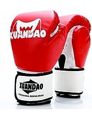 guantes de boxeo adulto/ guantes de saco de boxeo para los niños/guante de Sanda/Guantes de boxeo de entrenamiento Muay Thai profesional combat