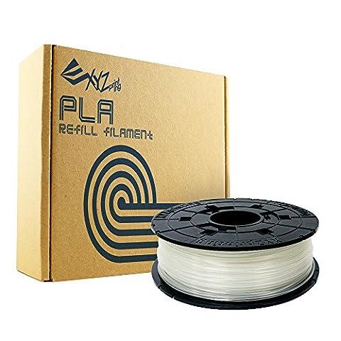 XYZprinting RFPLBXEU01F Recharge PLA Filament, 600 g, nature