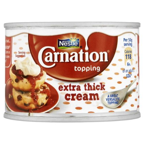 Nestle Carnation Topping Extra dicke Creme 12 x 170gm