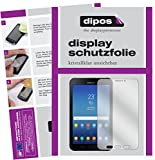 dipos Samsung Galaxy Tab Active 2 Schutzfolie - 2x Displayschutzfolie Folie klar