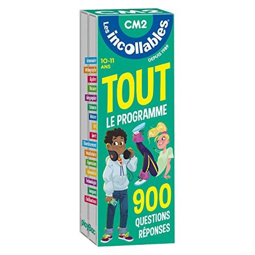 Les incollables - Tout le programme du CM2 - 10/11 ans: 900 questions réponses par réviser en 2 éventails- Cahier de vacances par -