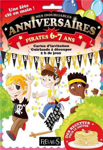Anniversaire pirates 6-7 ans par Sylvie Desormière